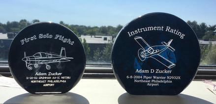 Acrylic Aviation Milestone