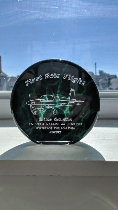Grumman First Solo Flight.JPG