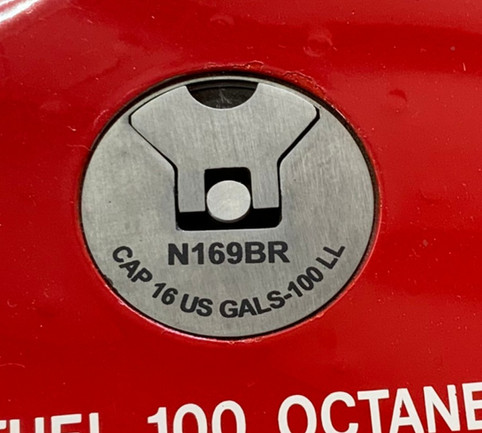 Laser Engrave Fuel Cap