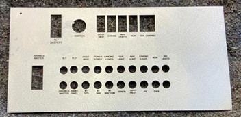 Custom Engrave Aluminum Panel