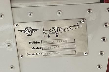 Zenith Custom Data Plate