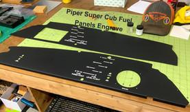 Piper Super Cub Fuel Panels