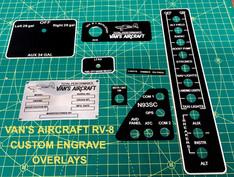 Vans Aircraft RV 8 Overlays