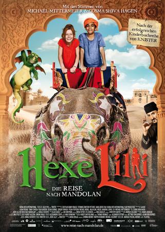 Hexe Lilli und die Reise nach Mandolan