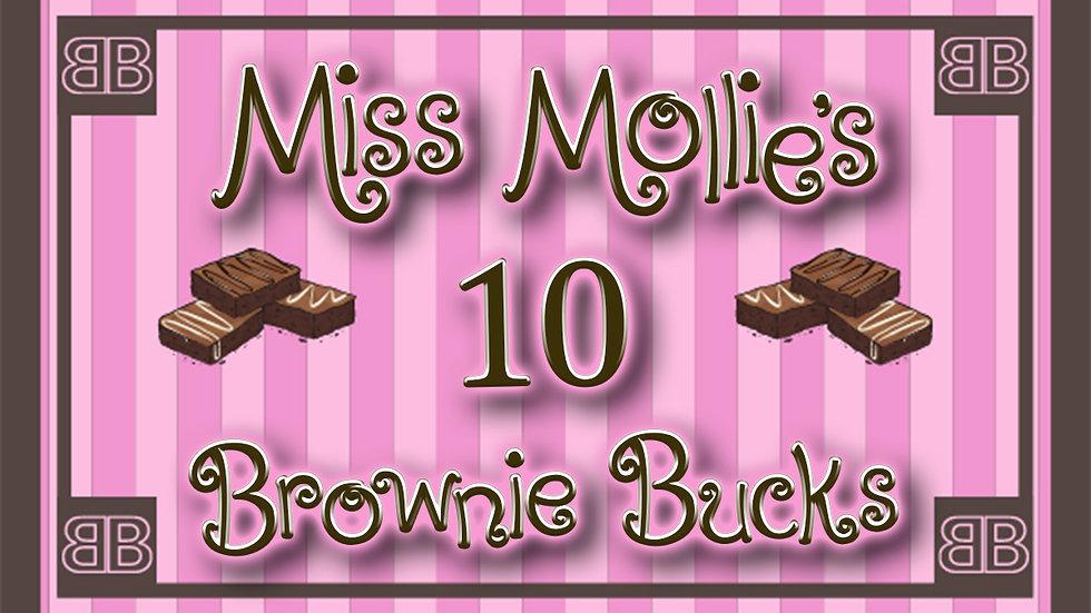 10 Brownie Bucks