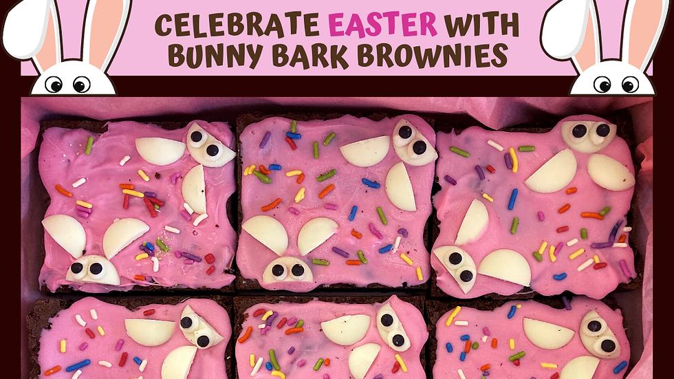 Bunny Bark Brownies
