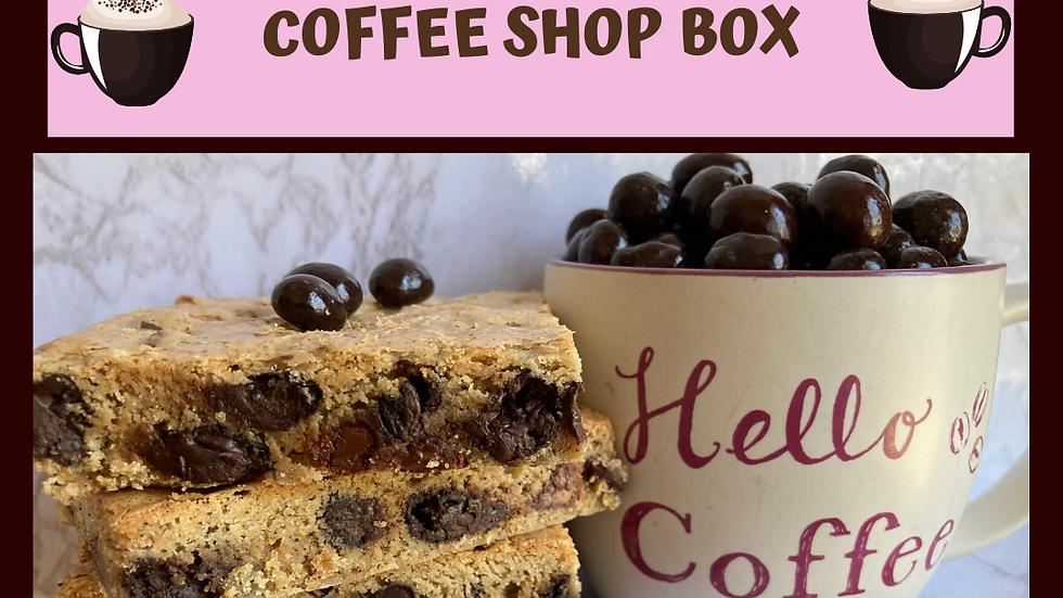 Coffee Shop Brownie Box
