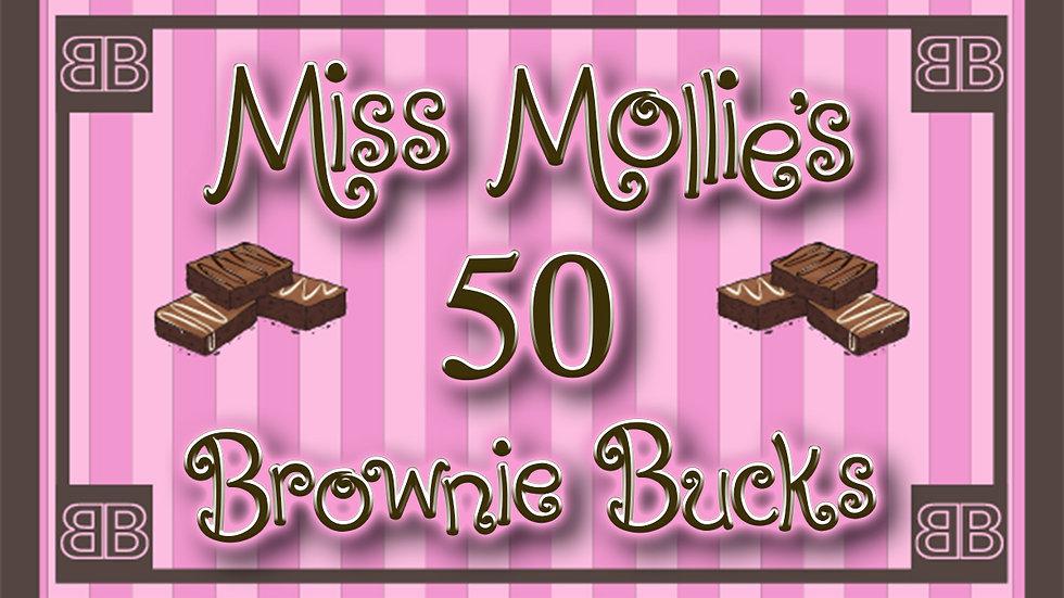 50 Brownie Bucks