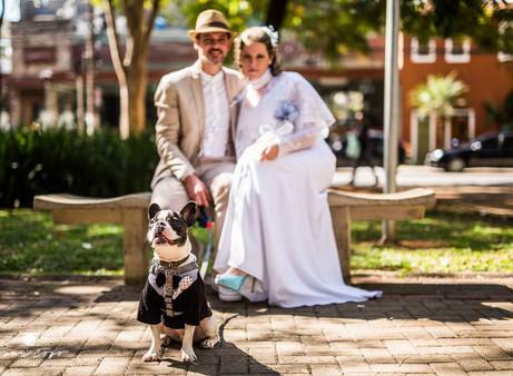Seu pet no seu casamento