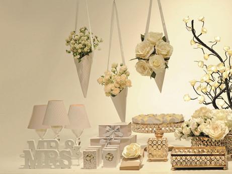 Decoração pronta e acessível para mini-weedings e bodas