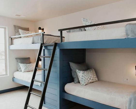Blue Bedroom Bunk Beds