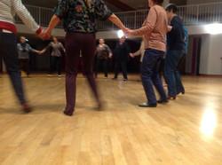danse pieds