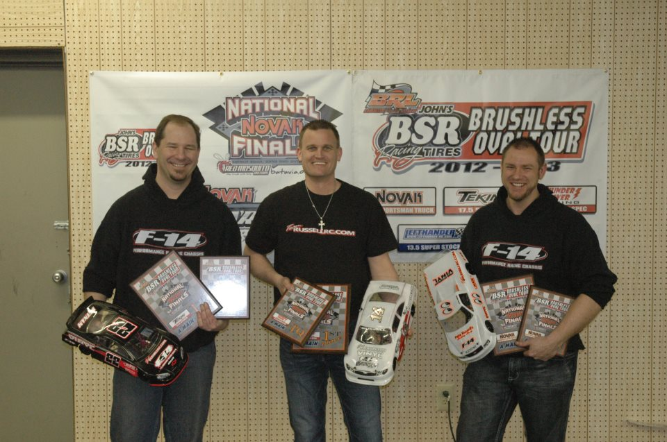 Three Amigos!  All TQ/Win BRL Finals