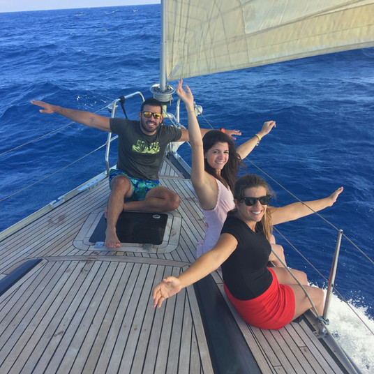 Sailing is being free