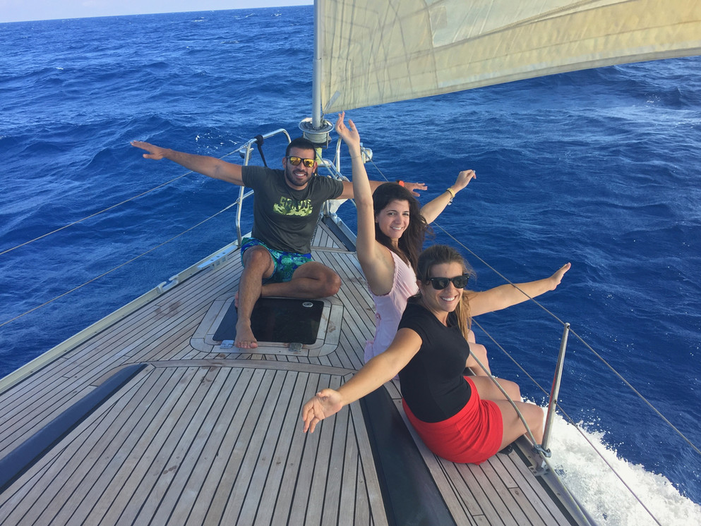 Sailing moments.