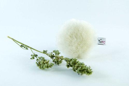 sheepskin cat toy