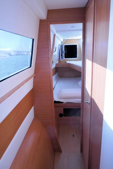 Coursive bâbord - Catamaran C-Cat 37 Sea Spell en location à Hyères