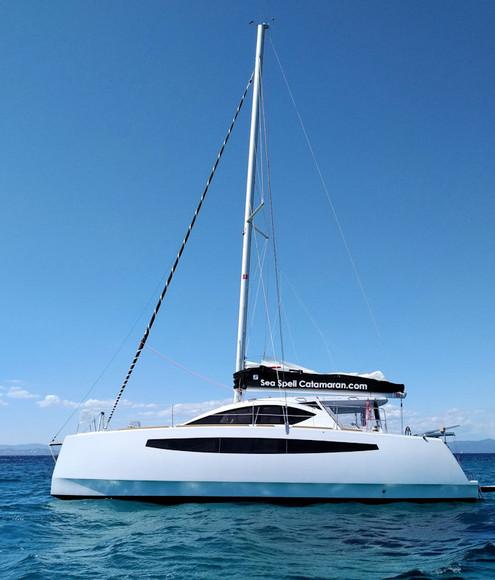 Profil - Catamaran C-Cat 37 Sea Spell en location à Hyères