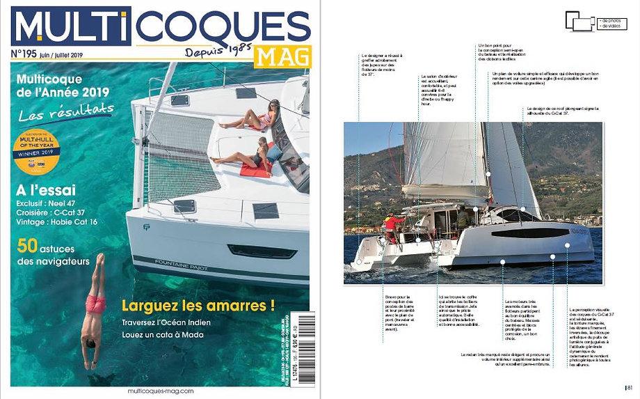 Multicoques Mag 195 - Juin 2019