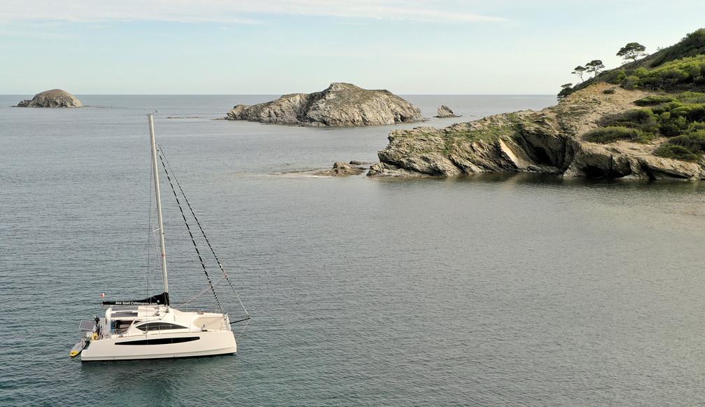 Mouillage - Catamaran C-Cat 37 Sea Spell en location à Hyères