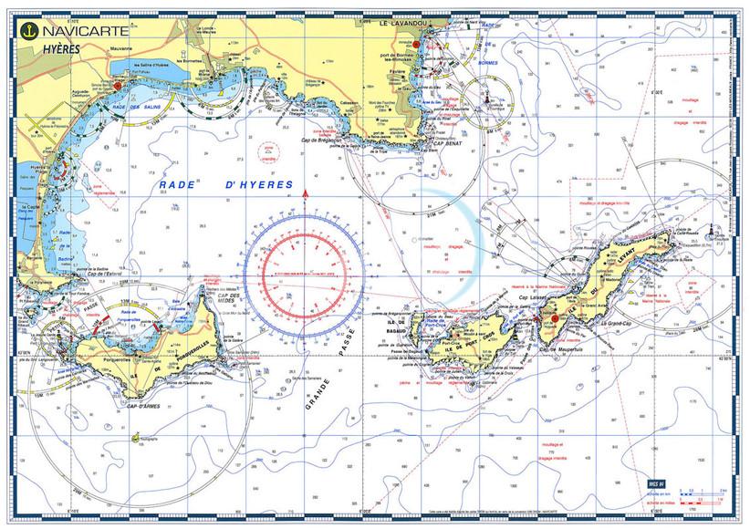Presqu'île de Giens et îles d'Hyères : Porquerolles, Port-Cros, Levant