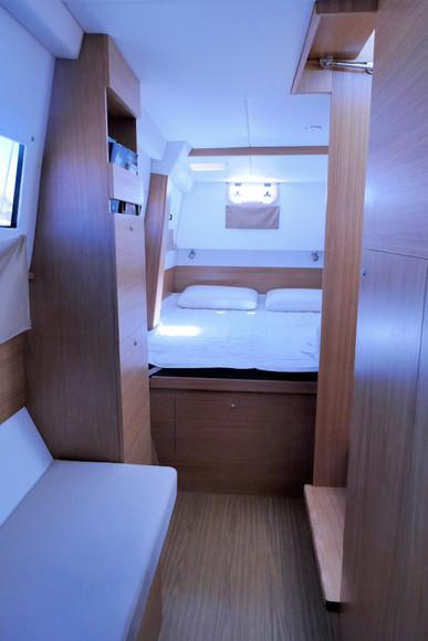 Couchage tribord - Catamaran C-Cat 37 Sea Spell en location à Hyères