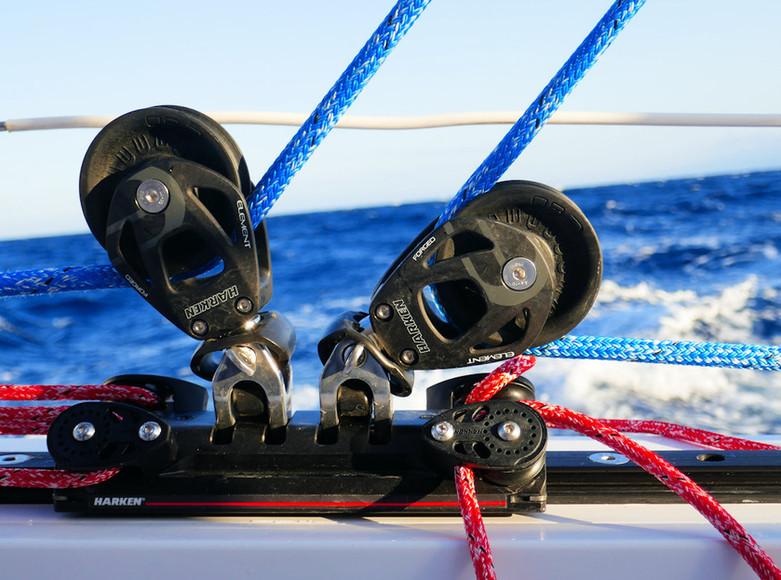 Palan Harken - Catamaran C-Cat 37 Sea Spell en location à Hyères