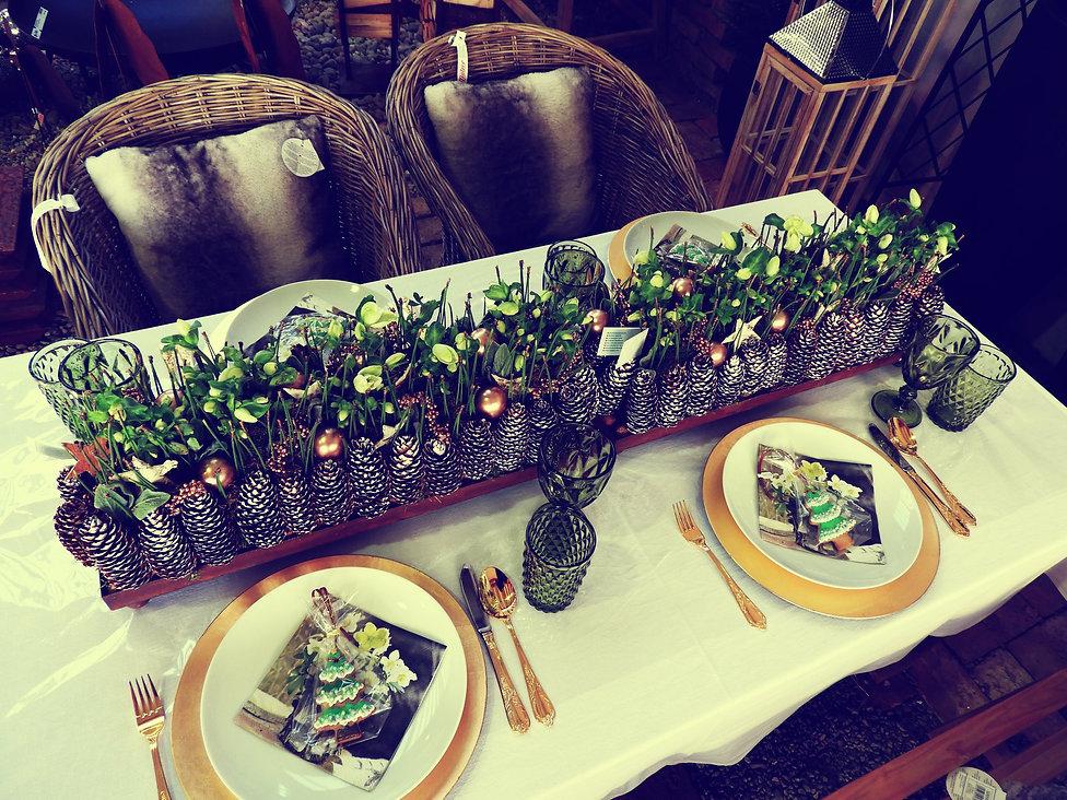 Floristik für Tischdeko