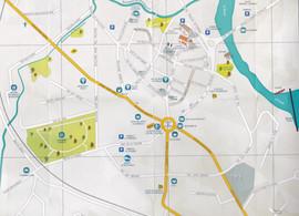 Plan de la ville de Labruguière