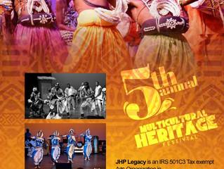 JHP Presents Cultural Heritage 2019