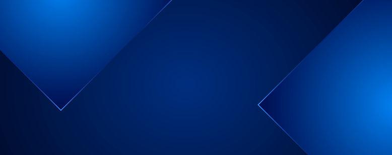 banner azul escuro com triângulos azuis escuros