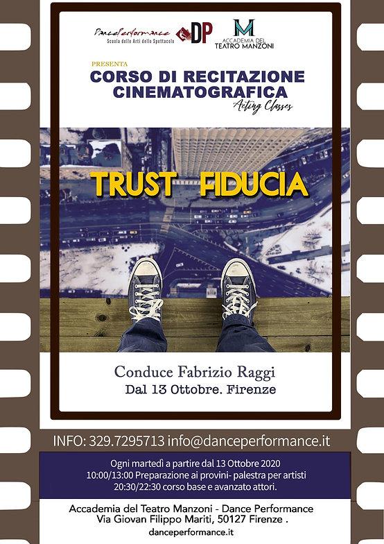 trust - fiducia- raggi