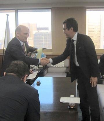 トルコ共和国環境都市計画大臣と会談