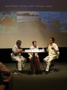 スピードの今井絵理子さん、涌井史郎先生との公開討論