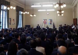 国会開会1