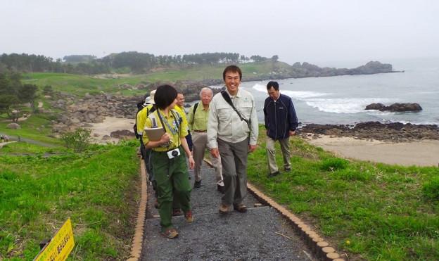 みちのく潮風トレイルを歩く