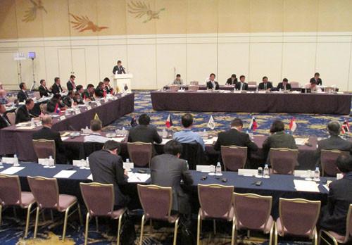 低炭素会議の模様