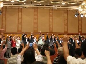 参院選比例区の木村よしお候補の総決起大会に石原軍団と応援に行きました。