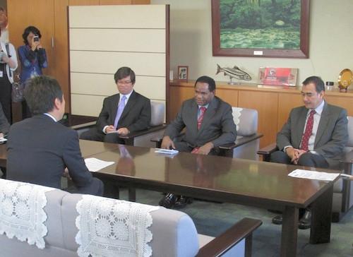 インドネシア共和国環境担当国務大臣と会談