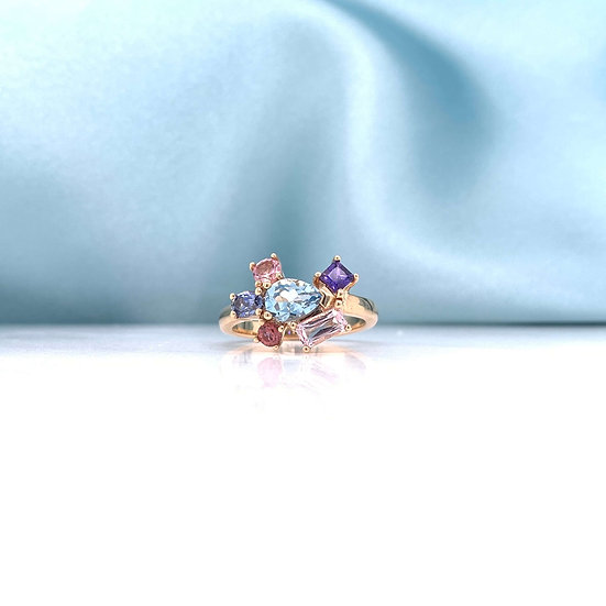 Picasso Coloured Gemstone Ring