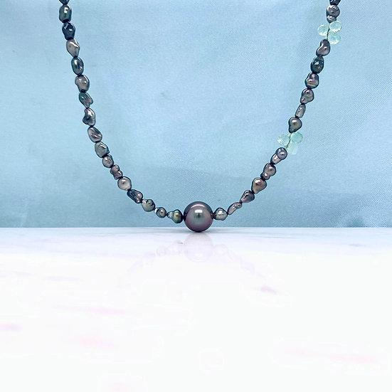 Keshi Tahitian Pearl Necklace