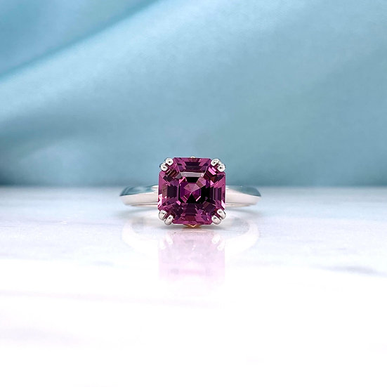 Rare Pink Spinel Ring