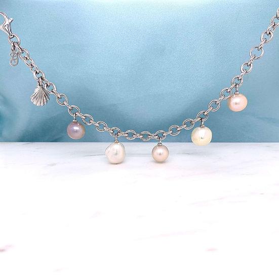 Atlantis Shell & Pearl Bracelet