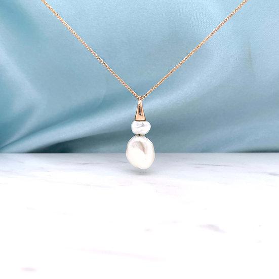 Keshi Freshwater Pearl Pendant