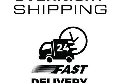 Overnight shipping $450