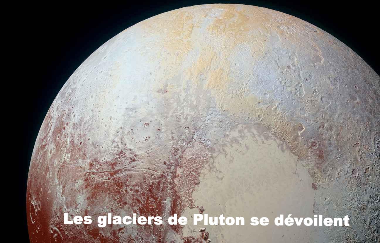 Les glaciers de Pluton