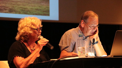 Maryvonne Chanet et Mario Vannoye