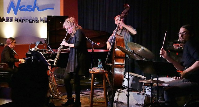 Performing at The Nash
