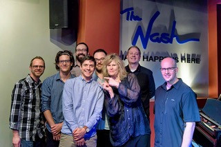 Will Goble and friends at The Nash