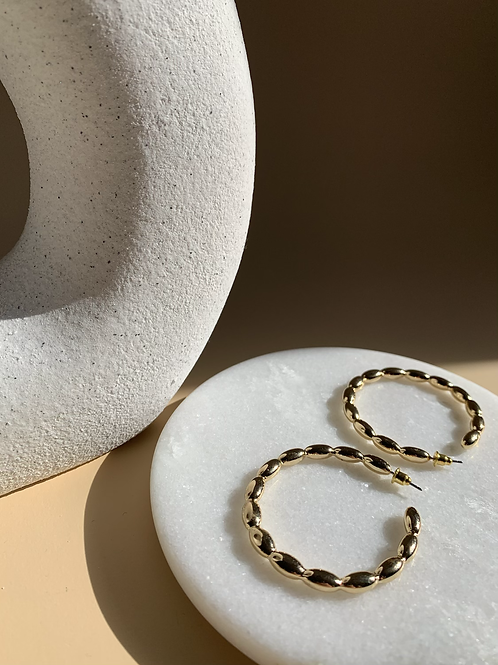 RC Gold Hoops